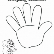 helping hands coloring page - photo #22